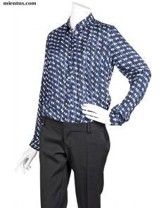 PAUL SMITH Dot Stripes Blouse - mientus Online Store