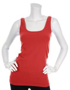 17a549fc33d1c6 Bordeaux Seamless Tank Top - Longer Fit (Harvest Red) Bordeaux.  54.95