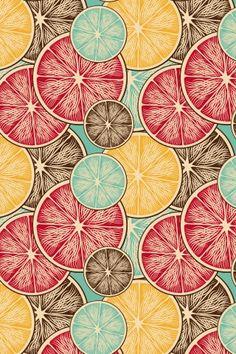 Limones de colores