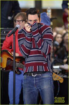 Adam Levine & Maroon 5: 'Today' Performances - Watch Now! | adam levine maroon 5 today show performance 06 - Photo