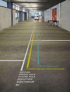 Image result for floor wayfinding