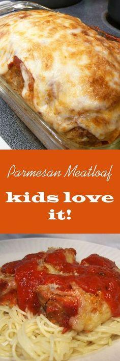 Parmesan Meatloaf Meatloaf Recipes, Beef Recipes, Cooking Recipes, Taco Meatloaf, Stuffed Meatloaf, Homemade Meatloaf, Healthy Meatloaf, Thai Cooking, Amish Recipes