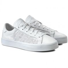 Boty adidas - CourtVantage S76659 Ftwwht/Ftwwht/Ftwwht Boty Adidas, High Tops, High Top Sneakers, Shoes, Fashion, Moda, Zapatos, Shoes Outlet, Fasion