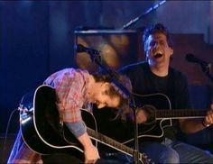 """MTV special when Don forgot the words to new song """"Learn to Be Still""""."""