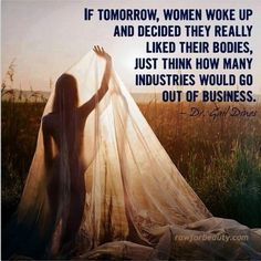 If tomorrow, women woke up and decided they really liked their bodies, just think how many industries would go out of business. – Dr. Gail Dines I came across this quote yesterday and it really hit home. Think about it. How much money do you spend annually because you don't love what you were born …