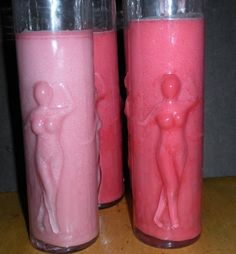 Blog post full of PINK candles Pink Candles, Pillar Candles, The Cure, Candle Holders, Breast, Unique Jewelry, Handmade Gifts, Etsy, Blog