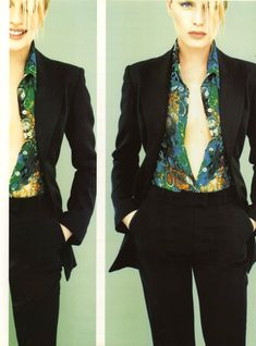 Plein Sud Fall/Winter 1996/97 Vogue Italia September 1996 Photo Jean Baptiste Mondino  Model Annie Morton