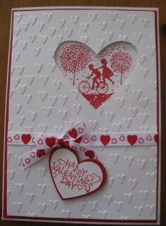 stampin up heart