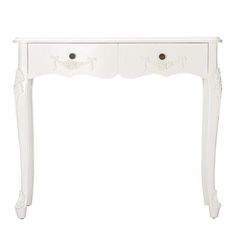 Toulouse White Console Table #french #vintage #toulouse