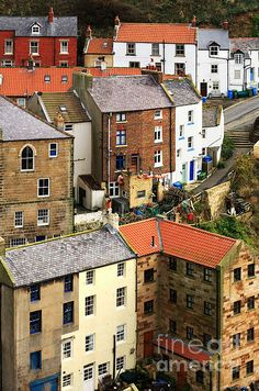 The Fishing Village Of Staithes In North Yorkshire ©Louise Heusinkveld