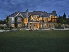 Specializing in luxury custom homes & acreage development in Calgary & the Foothills. Custom Home Builders, Custom Homes, Expensive Houses For Sale, Stone Archway, Luxury Homes Dream Houses, Pent House, Maine House, Calgary, The Ordinary