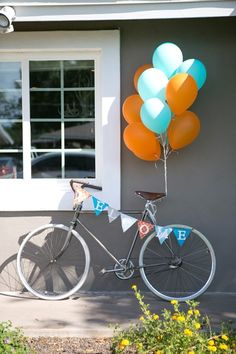 Bicycle themed birthday party ideas