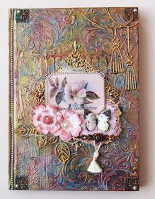 Artdeco Creations Brands: Altered Book by Sue Smyth