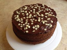 Chocolate cake with chocolate filling! Yum