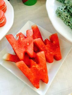 Woman Party Food - Parties With A Cause - Watermelon W's make a super snack for a Wonder Woman birthday party! Wonder Woman Birthday, Wonder Woman Party, Birthday Woman, Wonder Woman Cake, Husband Birthday, Superhero Birthday Party, 6th Birthday Parties, 4th Birthday, Birthday Ideas