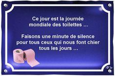 Citations - Ce jour est la journée mondiale des toilettes … Faisons ...