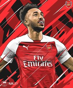 Arsenal Fc Players, Aubameyang Arsenal, Soccer Pro, Football Players, Basketball Stats, Football Art, Arsenal Football, Neymar, Soccer Tumblr