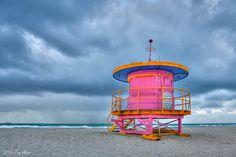 PERK + PONDER: Miami Beach Huts