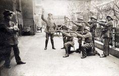 The last stand of a German communist in Munich, 1919