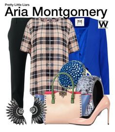 """""""Pretty Little Liars"""" by wearwhatyouwatch ❤ liked on Polyvore featuring Scanlan Theodore, Milly, Equipment, Chanel, Valentino, Yves Saint Laurent, women's clothing, women, female and woman"""