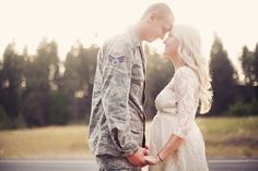 Military Maternity Session ~ Jeanna Hayes Photography