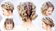 5 DOUBLE DUTCH BRAIDED HAIRSTYLES FOR SHORT HAIR | Milbau