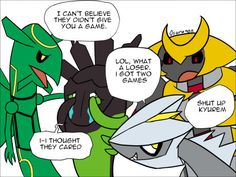 I am shocked there isn't a pokemon z yet.