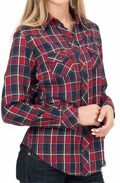 Nothing better than a plaid flannel with some leggings and boots <3