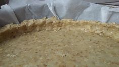 Pie dough based on oatmeal and olive oil // without butter - C gourmet secrets Tarte Vegan, Easy Smoothie Recipes, Snack Recipes, Healthy Recipes, Healthy Smoothie, Vegan Pate, No Cook Desserts, Coconut Recipes, Batch Cooking