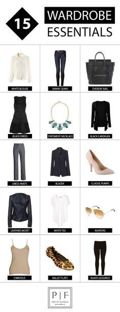 15 Wardrobe Essentials