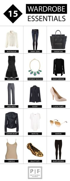 15 Wardrobe Essentials