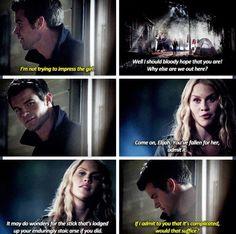 The Originals - Elijah and Rebekah #Season1