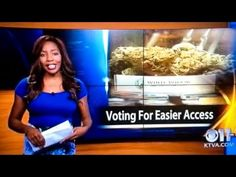 "TV Reporter Declares ""F*ck It, I Quit"" Live On Air To Concentrate On Campaign To Legalise Marijuana  #TEAM THIS LADY"