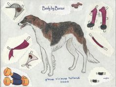 Dogs paper dolls 2