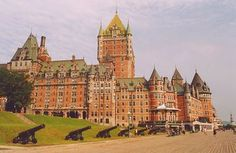Chateau Frontenac in Quebec City. one of the grandest hotels in the world. Old Quebec, Quebec City, Places To Travel, Places To See, Travel Destinations, Chute Montmorency, Chateau Frontenac, Le Petit Champlain, Places Worth Visiting