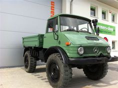 Unimog 406 U800 Typ 403 Kipper grün for sale - Price: $17,014 ...
