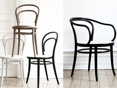 Chairs, Thonet.