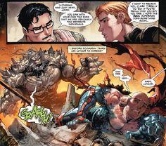 Luthor's last stand. #Doomsday #LexLuthor #TylerKirkham #JimmyOlsen #ActionComicsRebirth #ActionComics #SupermanRebirth #Superman #ClarkKent #Kryptonian #ManofSteel #SonofKrypton #Metropolis #DCRebirth #DCUniverserebirth #DC #DCComics #PrimeEarth #Comics #DCUniverse #PreFlashpoint #NewEarth #PathofDoom #DoomsdayKiller #DeathofSuperman #DawnofJustice #DanJurgens #ClayMann #ComicsDune