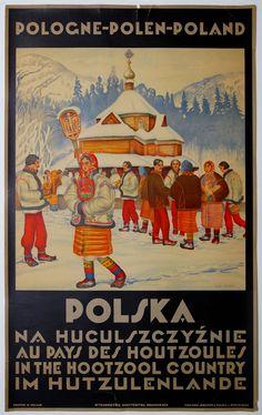 1930 POLSKA AU PAYS DES  HOUTZOULES