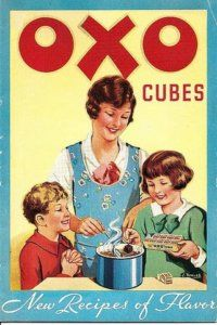 Vintage advertising poster | vintage posters | oxo | Circa 1930's