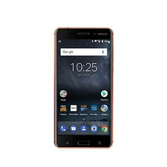 """Nokia 6 FHD Display - Android 7.1 Nougat, 5.5""""-32GB  http://topcellulardeals.com/product/nokia-6-fhd-display-android-7-1-nougat-5-5-32gb/  Fast 4G LTE speed, 1.4 GHz Qualcomm Snapdragon 430 octa-core processor, 3 GB of RAM, and 32 GB of internal memory with the option to add up to 128 GB of microSD expandable memory Brilliant 5.5″ 2.5D full HD display and a Smart Amplifier with 7.2W peak output and Dolby Atmos Offers and ads, including personalized deals and recommendat"""