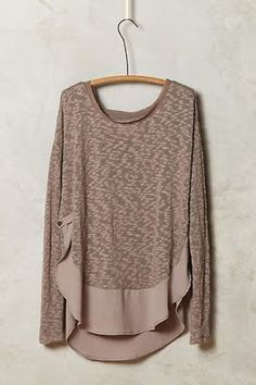 Loose fit blush shirt