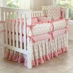 Designer Custom Made   Madison 5pc Crib Bedding by sofiabedding, $275.00