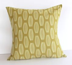 parson gray curious nature cocoon pillow green
