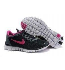 nike free Nike Free Black Pink Womens Shoes On Sale Free Running Shoes, Pink Running Shoes, Nike Free Shoes, Nike Shoes, Sneakers Nike, Cheap Sneakers, Nike Running, Nike Free Run 2, Tn Nike