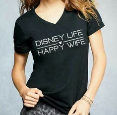 Disney life. Happy wife