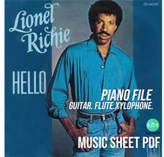 """""""Hello"""" is a song by Lionel Richie . Taken as the third single from his second solo album Can't Slow Down the song was releas. Lionel Richie Music, Uk Singles Chart, Music Charts, Billboard Music, Sheet Music, Album, Songs, Song Books"""