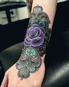 victorian rose tattoo - Google Search