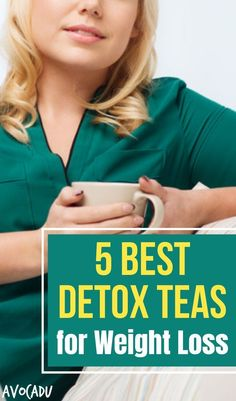 5 Best Detox Teas for Weight Loss Detox teas contain herbs that are naturally cleansing to the body. They also help increase natural energy, reduce stress, and remove toxins. All you need to do is select the right detox tea for YOU! Weight Loss Cleanse, Weight Loss Shakes, Weight Loss Drinks, Fast Weight Loss, Weight Gain, Body Cleanse Drink, Detox Drinks, Cleanse Diet, Natural Cleanse