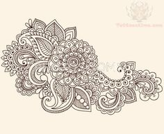 Paisley Pattern Tattoos Pictures and Images : Page 15